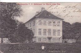 ALDERSHVILE SLOF. MANTEQUILLA P F ESBENSEN LA MARCA MAS FINA ADVERTISING. CIRCULEE PARAGUAY TO BS AIRES 1904- BLEUP - Denemarken