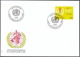 Switzerland 1995 / World Health Organization / Organisation Mondiale De La Santé / WHO OMS / FDC - Altri
