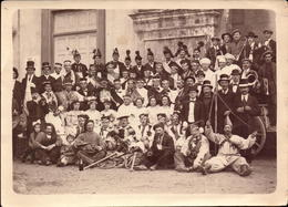 Alpes Maritimes, Breil Sur Roya, L Estacade Carnaval Historique, Photo Marcel Prouzet, 1925   (bon Etat) Dim: 18 X 12.5. - Luoghi