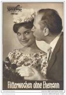 Progress-Filmprogramm 101/62 - Flitterwochen Ohne Ehemann - Film & TV