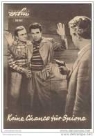 Progress-Filmprogramm 13/63 - Keine Chance Für Spione - Film & TV
