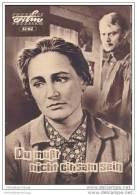 Progress-Filmprogramm 12/62 - Du Musst Nicht Einsam Sein - Film & TV