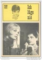 Film Für Sie Progress-Filmprogramm 64/68 - Ich Lüge Nie - Film & TV