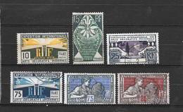 Francia 1924-25 Esposizione Internazionale Di Arti Decorative A Parigi. Serie Completa Usata - Francia