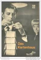 Film Für Sie Progress-Filmprogramm 100/68 - Das Kartenhaus - Film & TV