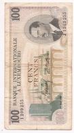 1968 International Bank Luxembourg 100 Francs Banknot - Luxemburg