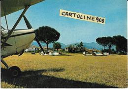 Aereoclub Rieti Lazio Centro Nazionale Di Volo A Vela Veduta Aerei - Aerodromi