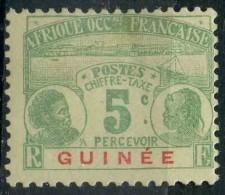 Guinée (1906) Taxe  8 * (charniere) - Non Classés