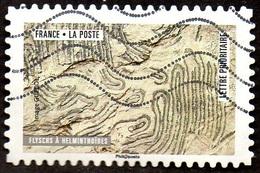 Oblitération Moderne Sur Adhésif De France N° 1510 - Oeuvres De La Nature - Flyschs - France