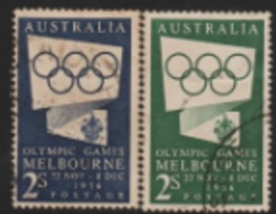 1956 MELBOURNE OLYMPIC. USED STAMP AUSTRALIA - Sommer 1956: Melbourne