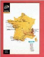 CYCLISME LE TOUR DE FRANCE 2018 CARTE POSTALE EN TRES BON ETAT - Cycling