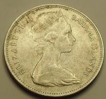 1966 - Bahamas - ONE DOLLAR, Argent, Silver, KM 8 - Bahamas