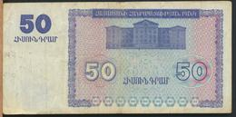 °°° ARMENIA - 50 DRAM 1993 °°° - Armenia