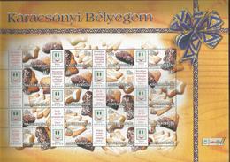 Hungary 2004 Christmas Bread Sheet  Y.T. F 4040G ** - Blocks & Sheetlets