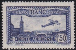 France   .   Yvert       .    Aérienne    6      .        *    .       Neuf Avec  Charniere - Poste Aérienne