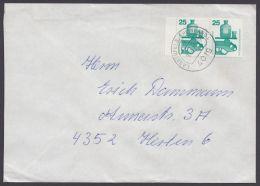 "Mi-Nr. 697, Waag. Randpaar, Bedarf ""Langenfeld"", 9.8.77 - BRD"