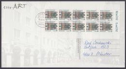 Mi-Nr. 2139, Kplt. 10erBogen Auf Gebr. AK, 15.8.01 - BRD