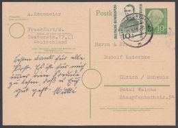 Mi-Nr. P26, Bedarf Mit Guter Zfr. In Die Schweiz, O - BRD
