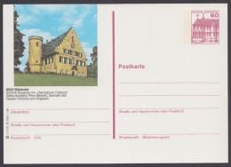 """Mi-Nr. P138n, Bild """"Rödental"""", Bei Wertzeichen Rahmen Oben Gebrochen, * - Postkarten - Ungebraucht"""