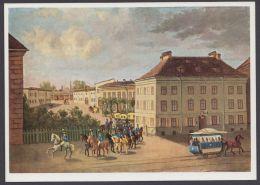 "Mi-Nr. PP 37 C2)01, Dek. Farbige Karte ""Münchener Poststall"", 1967, * - BRD"