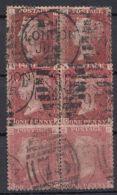 Mi-Nr. 10, 3 Waag. Paare, O - 1840-1901 (Viktoria)