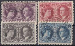 """Mi-Nr. 182, 184/6, """"Ausstellung 1927"""", Ohne Mi-Nr. 183, Sauber Gestempelt, O - 1921-27 Charlotte Frontansicht"""