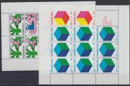 """Mi-Nr. Bl. 7,9, """"Voor Het Kind"""", 1968 Und 1970, ** - 1949-1980 (Juliana)"""