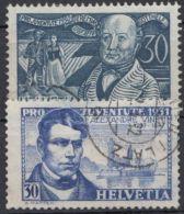 """Mi-Nr. 244, 249, Höchstwert """"pro Juventute"""", 1930/1,sauberes Bedarfsstück, O - 1918-1945 1. Republik"""