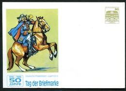 Bund PU117 C1/015  BRANDENBURGISCHER POSTREITER 1986 - Post