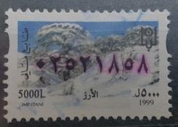 Lebanon 1999 Fiscal Revenue Stamp 5000 L - Cedar Tree - Lebanon