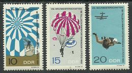 Germany DDR 1966 Year MNH(**) Mi.# 1193-95 - DDR