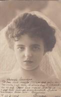 MUJER FEMME WOMAN BIZCA SQUINTING MARRIAGE DRESSED VINTAGE CIRCULEE BUENOS AIRES CIRCA 1900's-RARE- BLEUP - Huwelijken