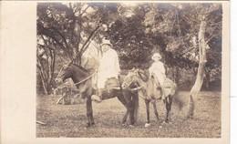 EL BAJIO MEXICO. VOYAGE. CHEVAL HORSE CABALLOS FOLK FOLKLORE PEOPLE CIRCA 1920's- BLEUP - Mexico