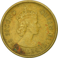 Monnaie, Etats Des Caraibes Orientales, Elizabeth II, 5 Cents, 1965 - East Caribbean States
