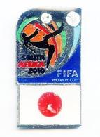 Football, Soccer, Calcio, SOUTHAFRICA 2010 World Cup, Japan Team, Pin (512) - Football