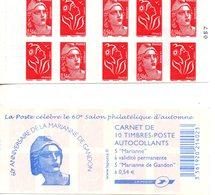 France.carnet 1514.n**. - Carnets