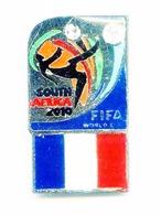 Football, Soccer, Calcio, SOUTHAFRICA 2010 World Cup, France Team, Pin (521) - Football