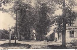 77 . Seine Et Marne .  Combs La Ville .avenue De La Gare . - Combs La Ville