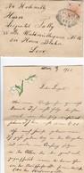 Brief Wien - 1901 - Mit Inhalt - Maiglöckchen-Deko (36038) - 1850-1918 Empire
