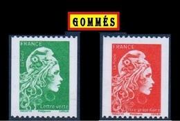 """PAIRE ROULETTE MARIANNE GOMMÉES """"L'ENGAGÉE"""" 2018 . TTB - Roulettes"""