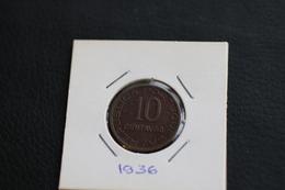 IVO MOÇAMBIQUE 10 CENTAVOS 1936  PORTUGAL COIN - Mozambique