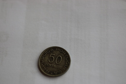IVO MOÇAMBIQUE 50 CENTAVOS 1936  PORTUGAL COIN - Mozambique