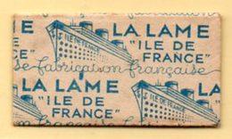 Rasage. Razor Blade. Lame De Rasoir. Lame Ile De France. - Lames De Rasoir