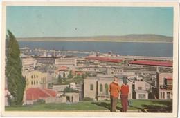 Israel, Haifa, Bay And Harbour, Used Postcard [21593] - Israel
