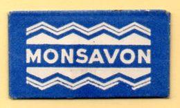 Rasage. Razor Blade. Lames De Rasoir. Lot De 2 Lames : Bic Et Monsavon. - Lames De Rasoir
