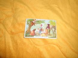 CHROMO OU IMAGE ANCIENNE DATE ?. / A L'OLIVIER. SPECIALITE D'HUILES. / CUEILLETTE DES OLIVES.. - Trade Cards