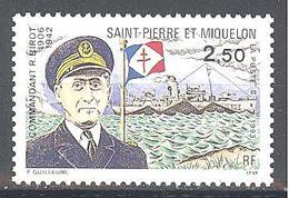 Saint Pierre Et Miquelon: Yvert N° 573**; Marine; Bateau - Neufs