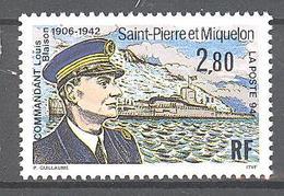 Saint Pierre Et Miquelon: Yvert N° 592**; Sous-marin - Neufs