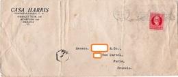 ENVELOPPE TIMBREE Casa Harris HABANA Cuba  ANNEE 1928 - Cuba