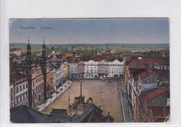 PARDUBICE. NAMESTI. NAKI JOSEF STEPAN, KK CO. CIRCULEE  CIRCA 1900's CHECOSLOVAQUIA- BLEUP - Postkaarten